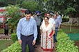 Sh. Ishwar Singh (Commissioner of Police, Ludhiana)   with his wife Mrs. Suman